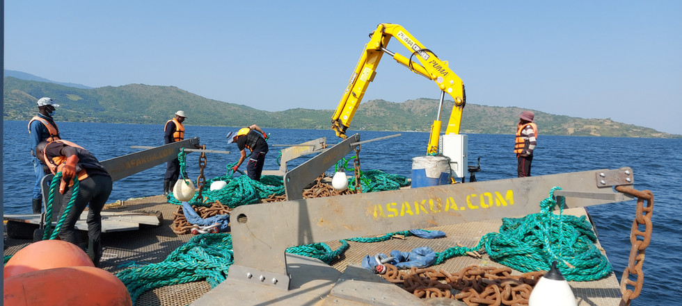 Balık Çiftliği Demirleme Projesi