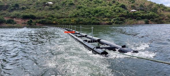 Floating Security Barrier