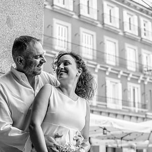 Gema & Rubén - Una boda en la Plaza Mayor de Madrid