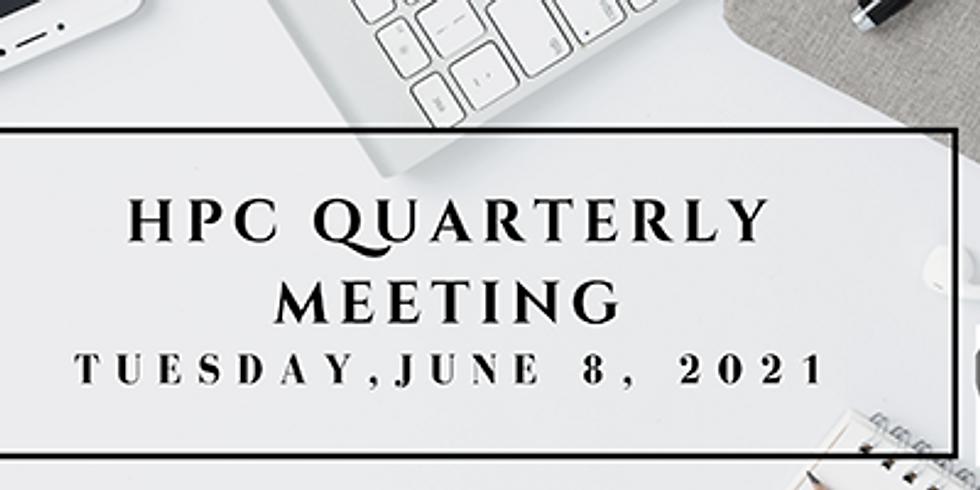 HPC Quarterly Meeting
