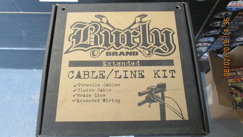 Harley Twin Cam Burly Cable/Line Extension Kit 18