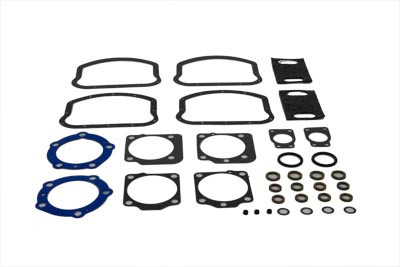 Harley Panhead Top End Gasket Kit with Teflon Head Gaskets 1948-65 P