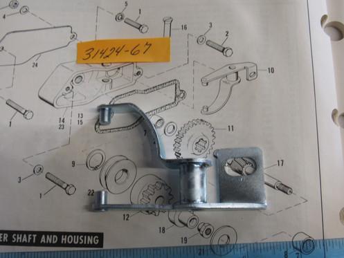 Harley Sportster Electric Starter Fork Arm Lever 1967-80