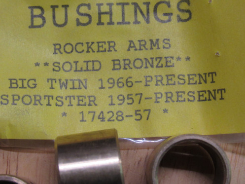 Harley Shovelhead,Sportster Rocker Arms Bushings**Solid Bronze** 1957-84