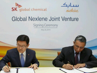 SK Global Chemical Metallocene Polyethylene Joint Venture with Sabic