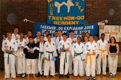Students at TKD Explosion 2003