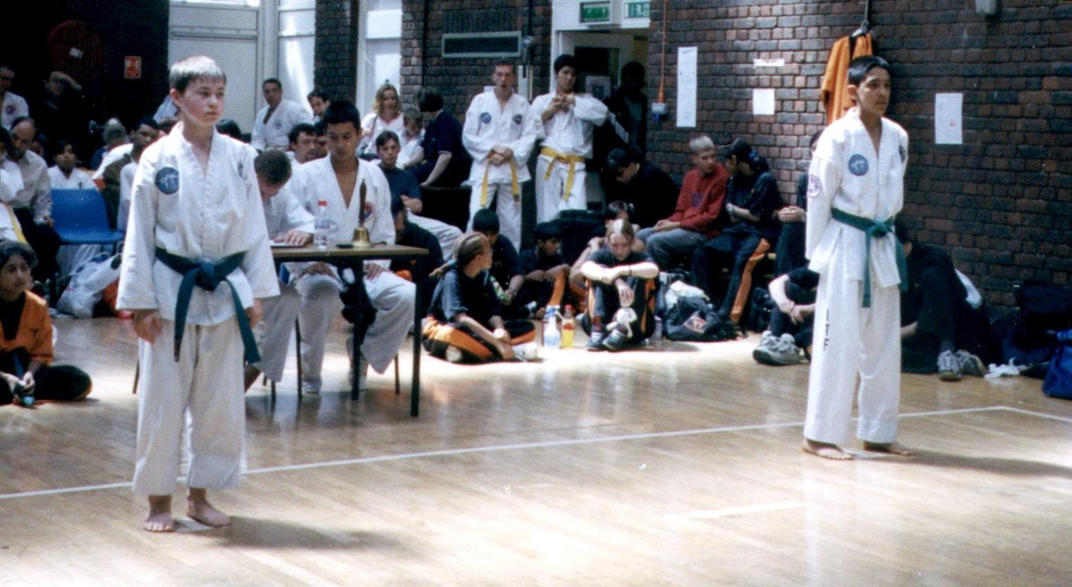 Kanai Brand & Dev Patel, 2002