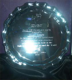 Hall of Fame Award, 2003