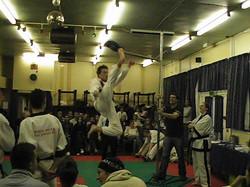 Prez flying high, 2007