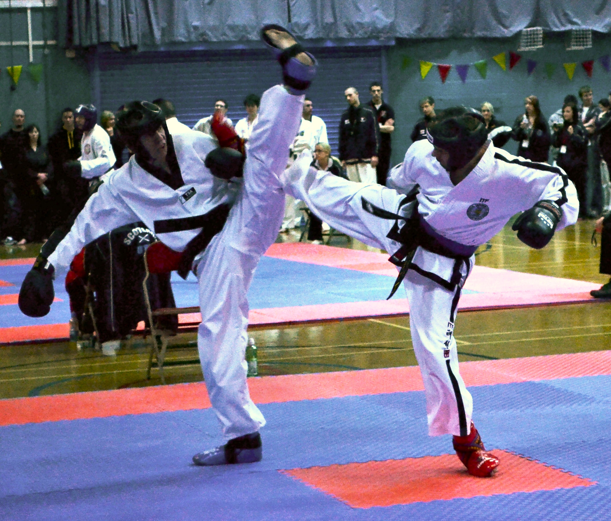Sparring at PUMA Worlds