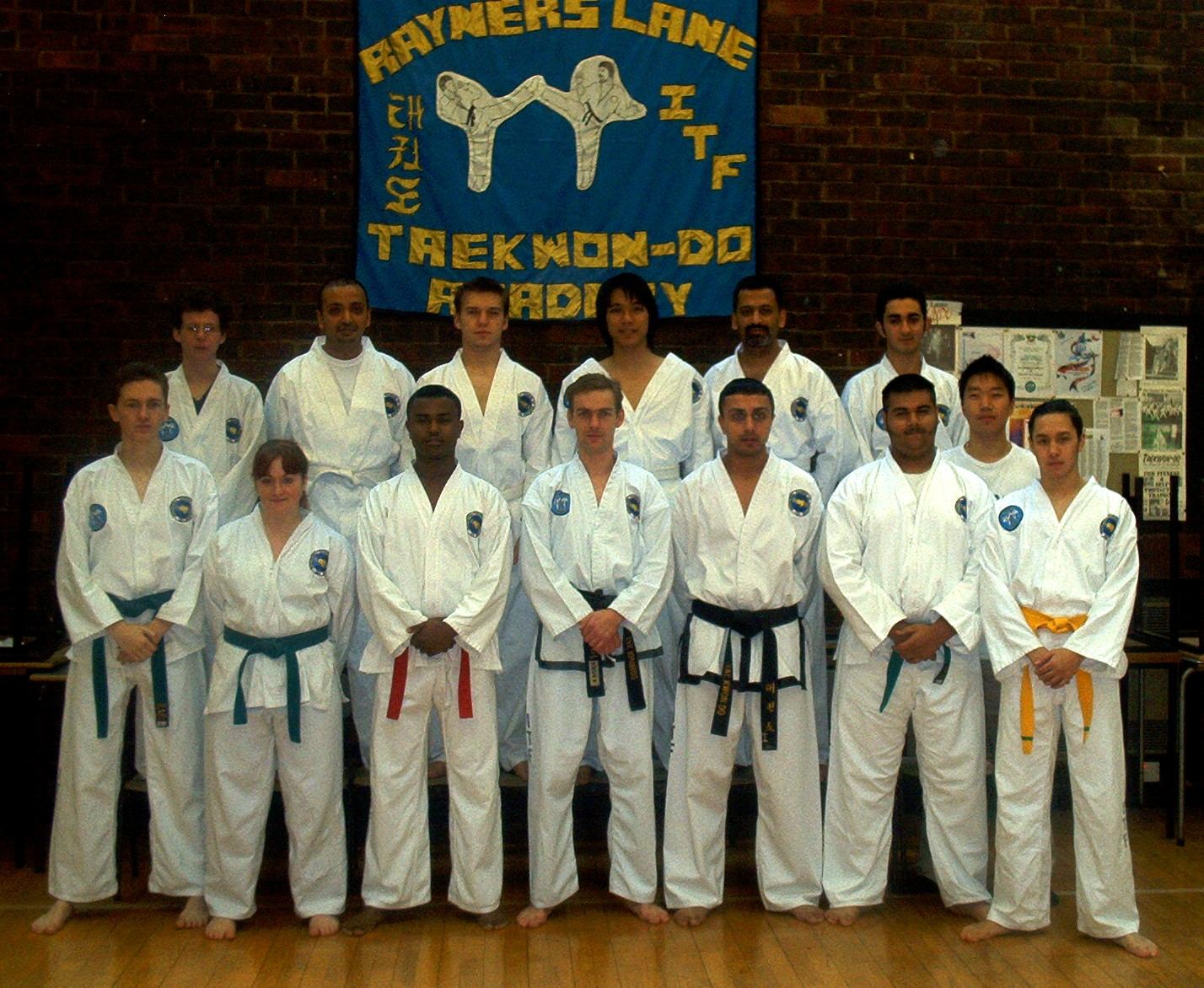 Group shot, 2002