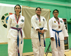 Academy student Trupz Mahida who won both a gold and a silver medal