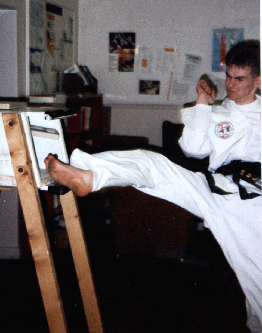 Twisting Kick - circa 1994