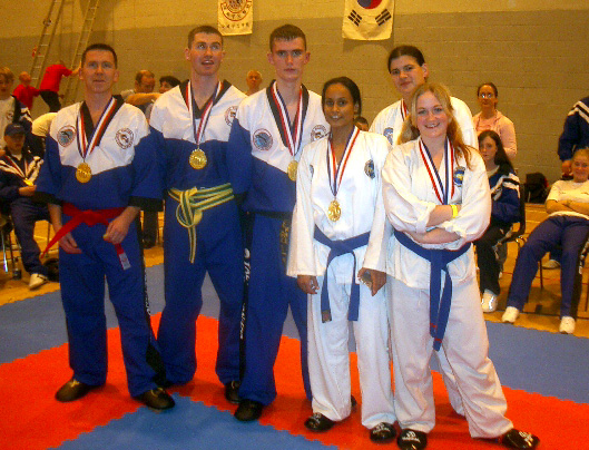 Female Team, World Champs, 2004