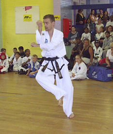 Yoo-Sin Tul at a tournament in 2005
