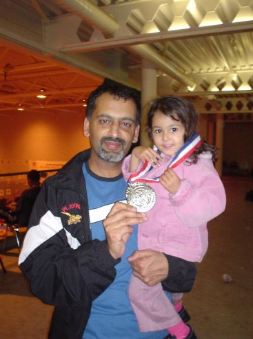 Mr Sood, World Champs, 2004