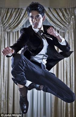 Dev Patel - Flying Knee
