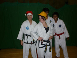 fun at the Christmas class