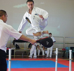 Mr Gautam - Flying Side Kick