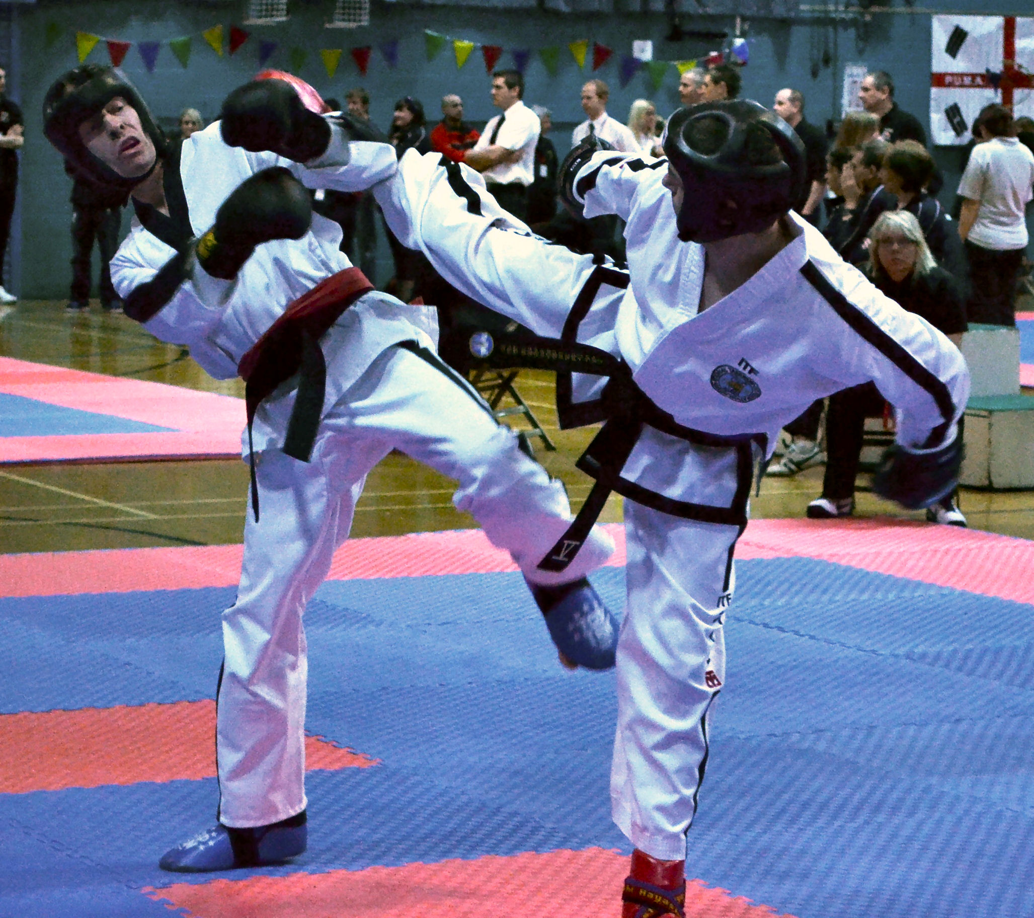 Sparring at PUMA Worlds, 2011