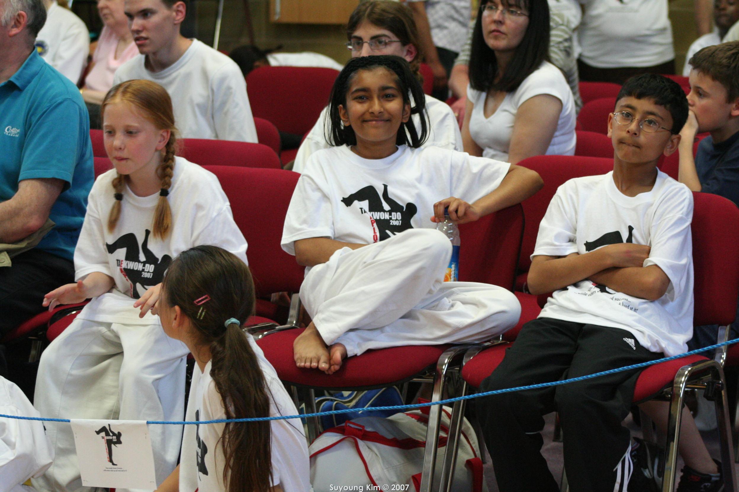 Charlotte, Nikita & Abhijay, 2007