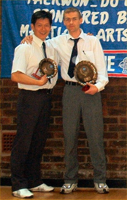 Mr Anslow & Master Slater, 2003