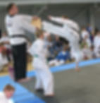 Mr Anslow competing in the USA, 2005