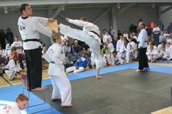 Flying Rev Turning Kick, USA 2005