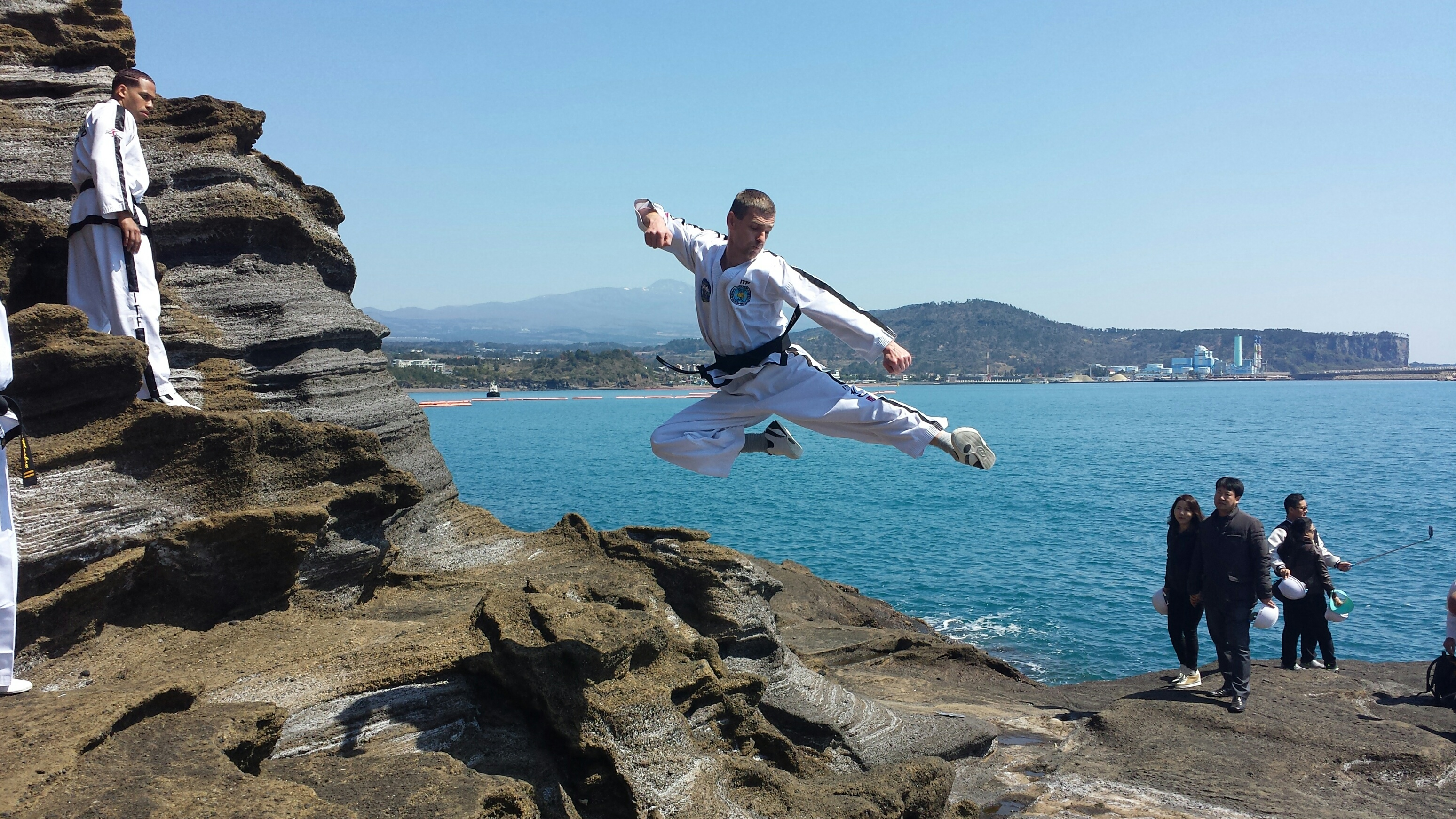 Flying Side Kick - South Korea