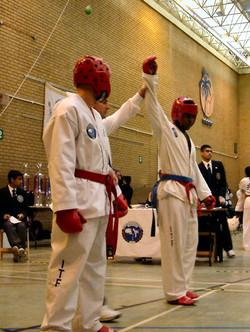 Mr Sultan wins, BUTF British 2004