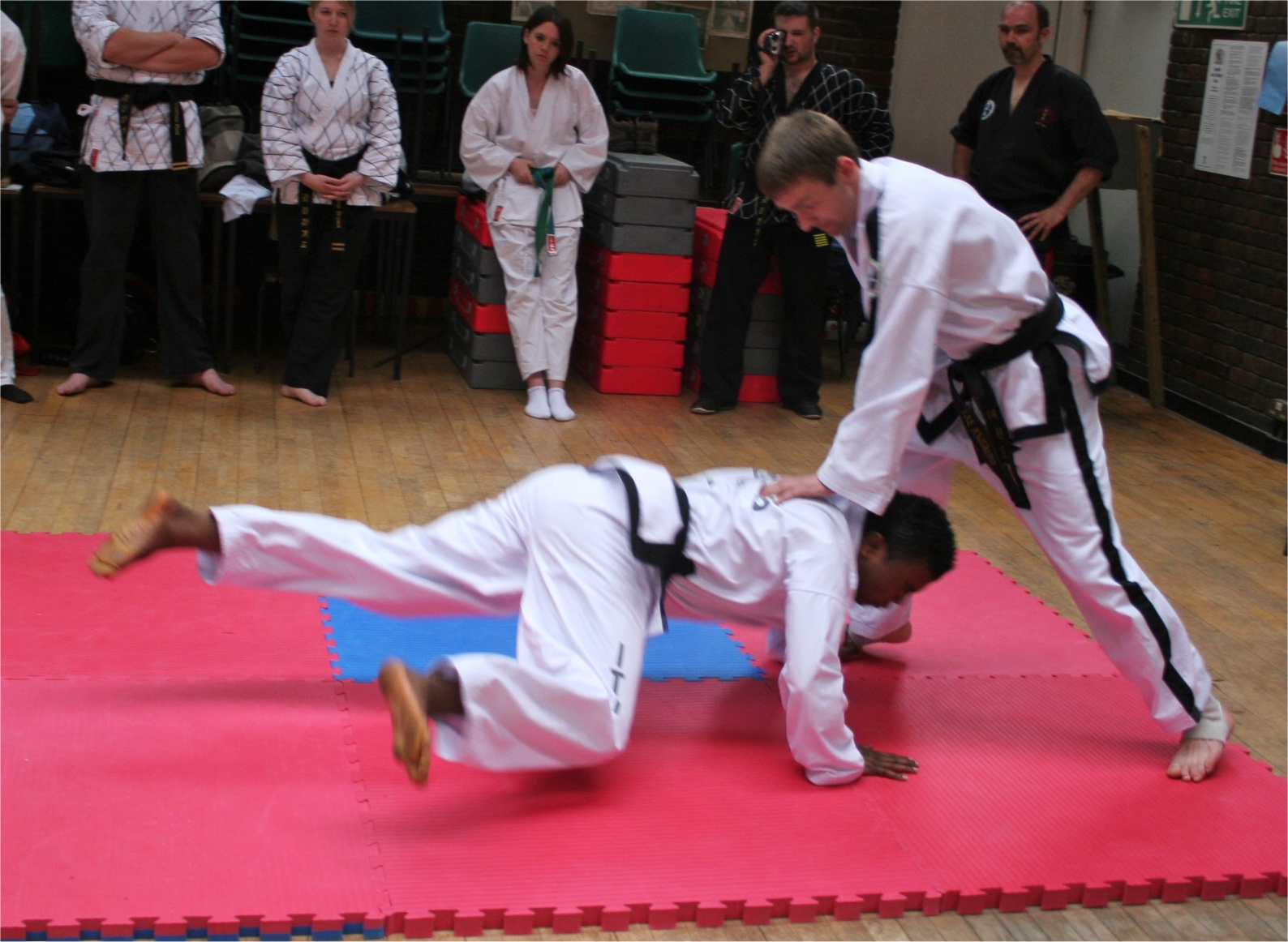 Teaching at a seminar