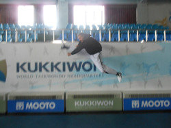 Flying high at the Kukkiwon