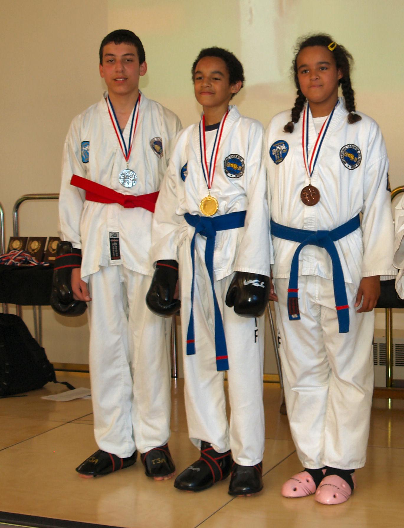 Saphwat, Wesley & Abigail, 2010
