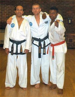 Mr Anslow, Mr Ahmad & Mr Sultan