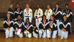 Students after the 2004 World Champs