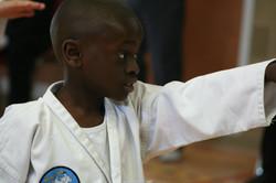 A young Mr Odunaiya, 2007