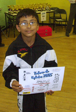A young Mr Sood, 2005