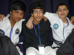 Happy Students at PUMA Worlds,2012