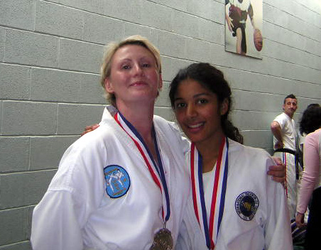 Gill & Priya, World Champs, 2004