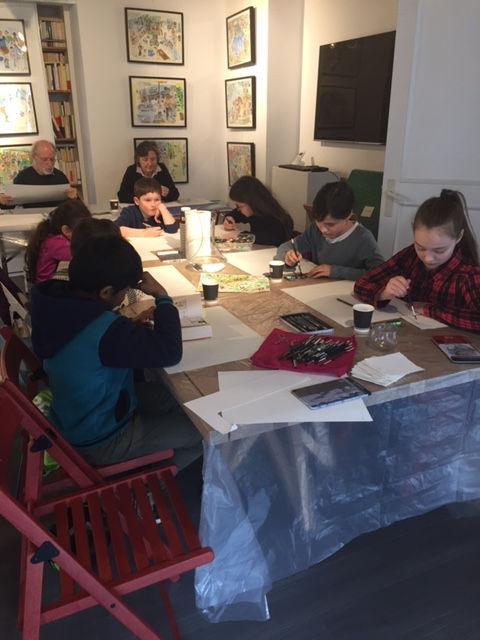 Les enfants sont les bienvenus à L'Art Bouquine