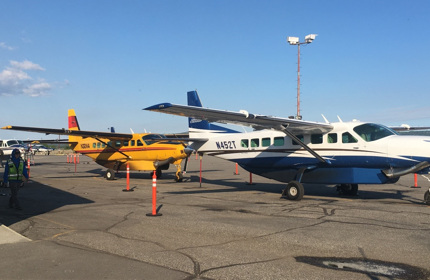 Fly with Wright Air to Yukon River Lodge