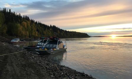 Hunt the Yukon River