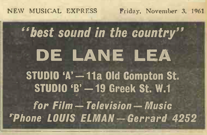 De lane 1961.png