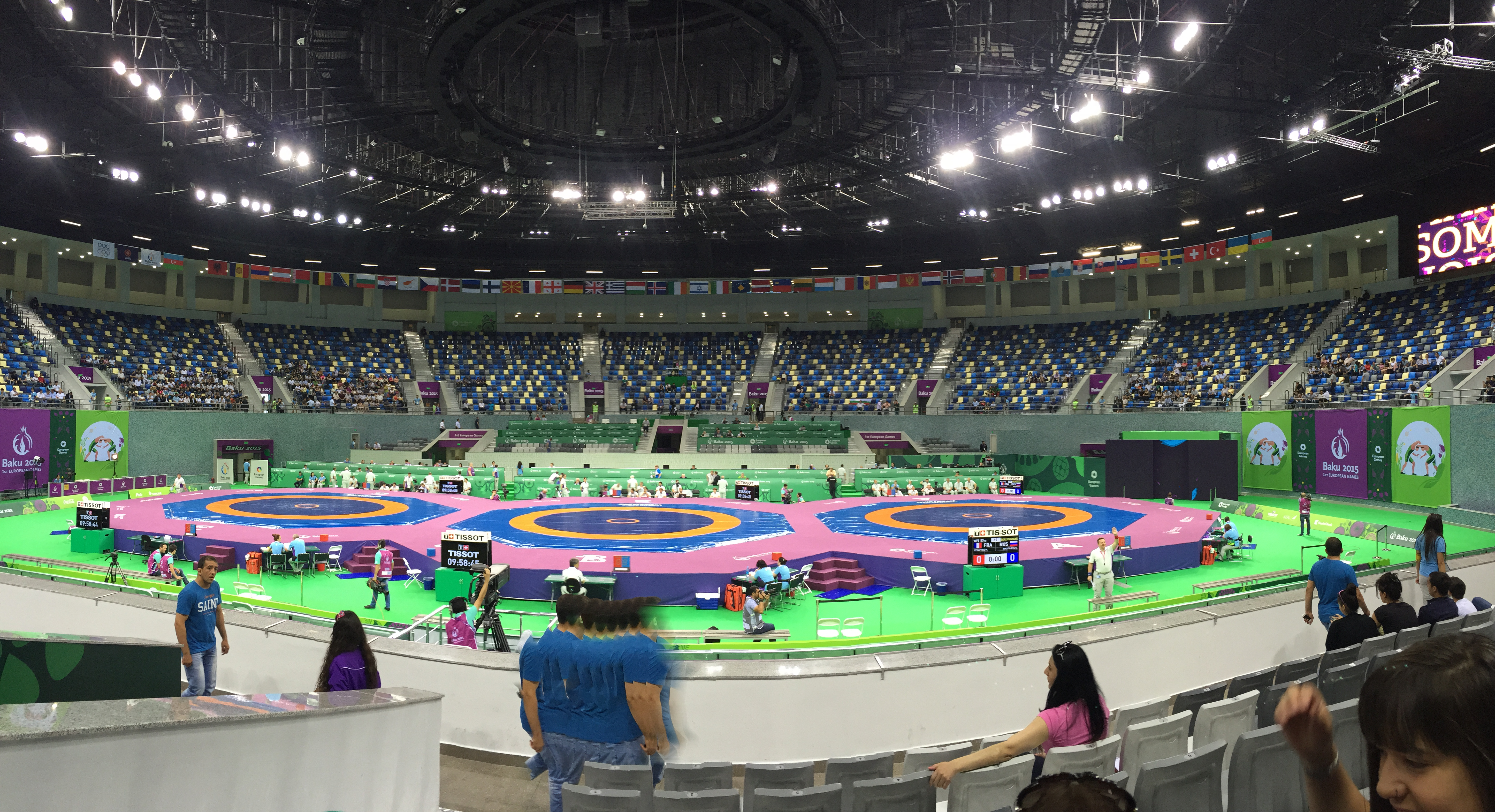 1er jeux européen Baku Azerbaïdjan