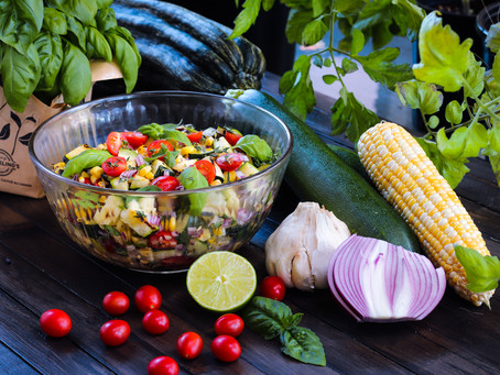 The Ultimate BBQ Zucchini Salad (with photos)