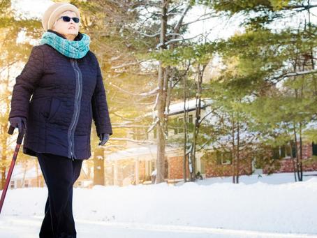 Winter Walking Tips for Seniors