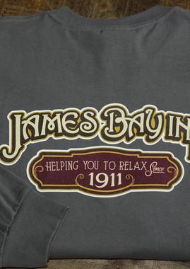 Longsleeve JBI shirt in grey