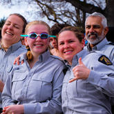 Thumbs Up RCMP