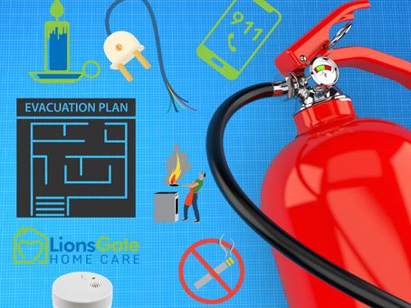 6 Fire Safety Tips for Seniors