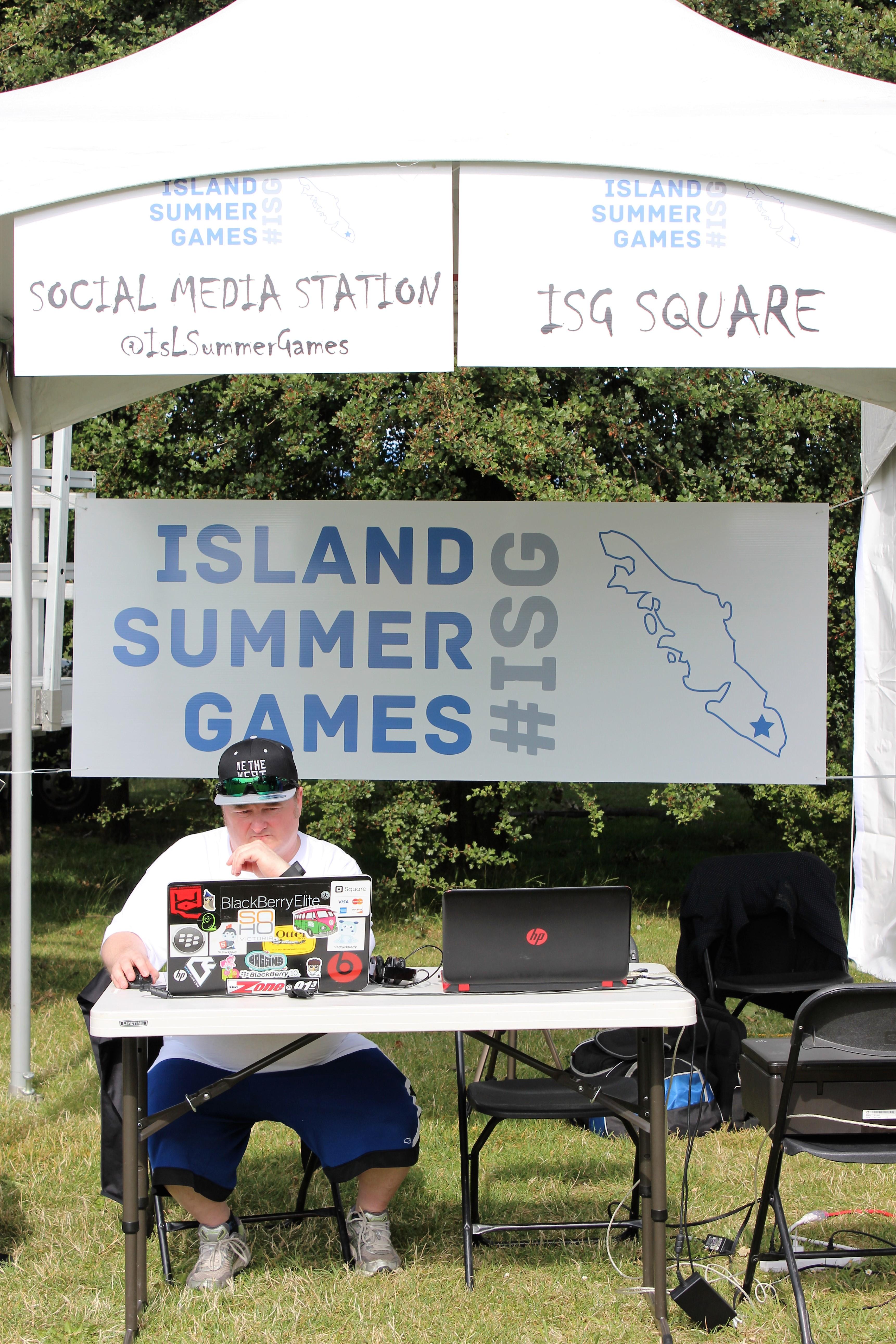 ISG 2016 Social Media Station